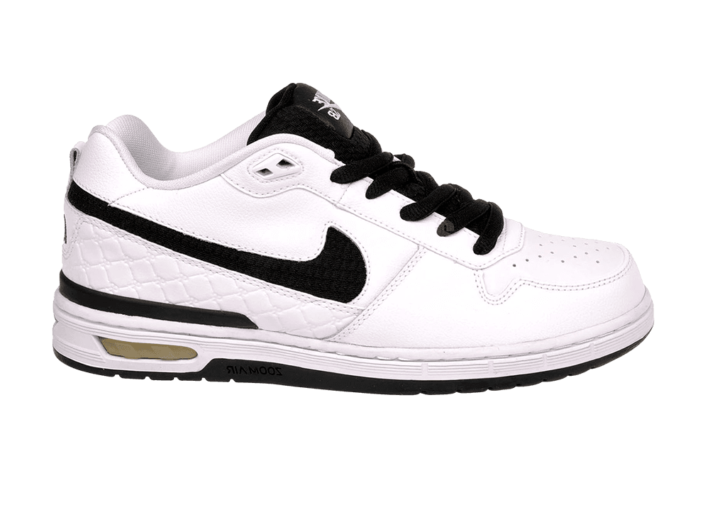 Nike ZOOM PAUL RODRIGUEZ ZOOM Nike AIR faible blanc noir  Gris  Discounted (509) homme chaussures d10248