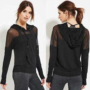 Women-Casual-Mesh-Sheer-Long-Sleeve-Sports-Hoodie-Sweatshirt-Tops-Shirt-Pullover