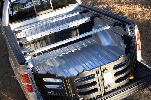 2009 2014 Ford F 150 Black Rear Truck Bed Extender Stowable Oem Genuine Kit