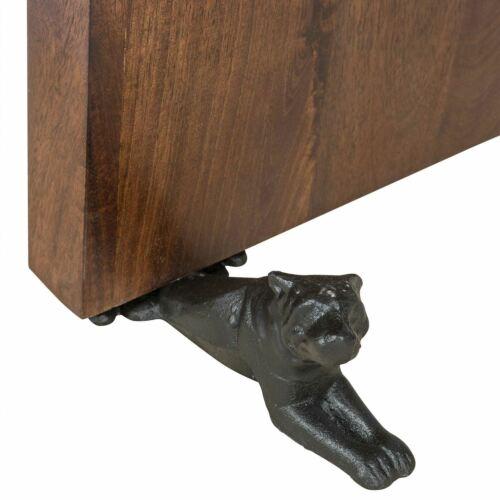 Cat Anitque Door Stopper Large Heavy Cast Iron Door Stop Animal Shape Lying Dog