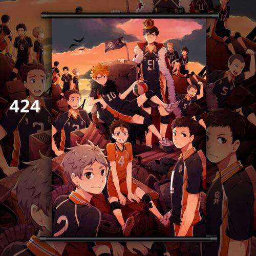 Haikyuu Shoyo Koushi Kei Ryunosuke Anime Wall Art Poster Scroll Home Decoration