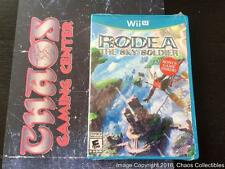 Rodea: the Sky Soldier - Launch Ed. (Nintendo Wii U, 2015) NEW, NIB, RARE, OOP
