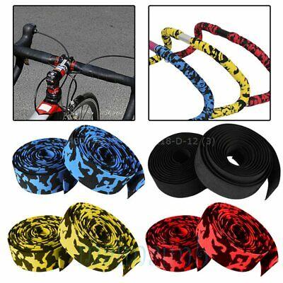 Foam Road Bike Bicycle Drop Bar Anti Slip Handlebar Grip Wrap 0.7in D 1.8cm