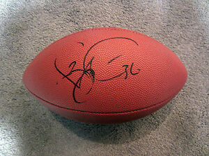 f91134d73 Image is loading JEROME-BETTIS-Pittsburgh-Steelers-Autographed-SIGNED- Football-w-