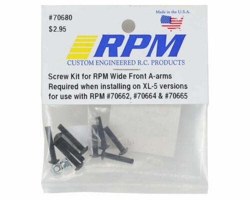 Stampede 2wd Rustler RPM RPM70680 Screw Kit for Wide Front A-Arms