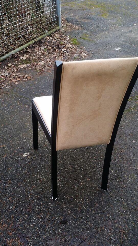 Spisebordsstol, Træ/Ruskind, Wenge