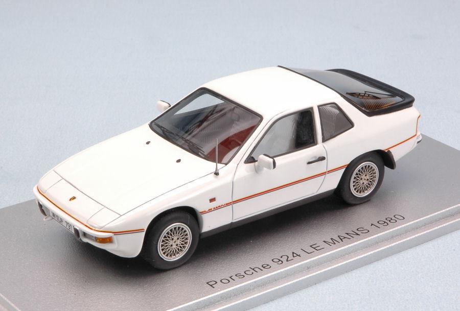 Porsche 924 Le Mans 1980 Weiß Limited Edition 225 pcs 1 43 Model KESS MODEL  | Gute Qualität