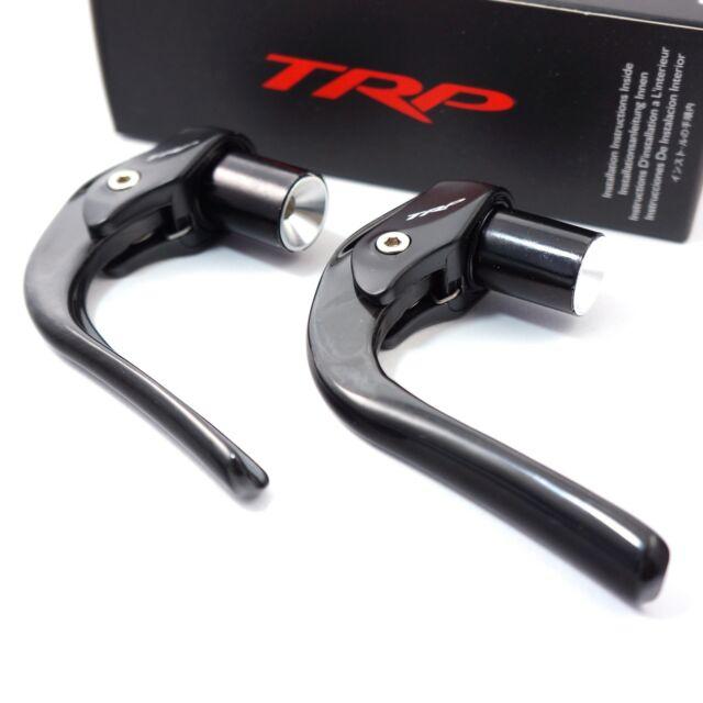TRP TTLVR Ergonomic Carbon TT//TRI Race Carbon Brake Lever Set BLACK //usps