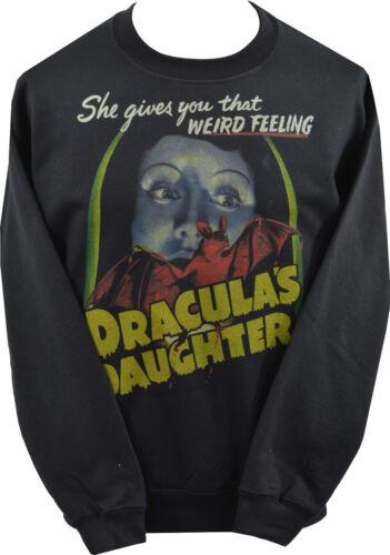 UNISEX SWEATSHIRT DRACULAS DAUGHTER VINTAGE CLASSIC HORROR VAMPIRE BAT XS-7XL