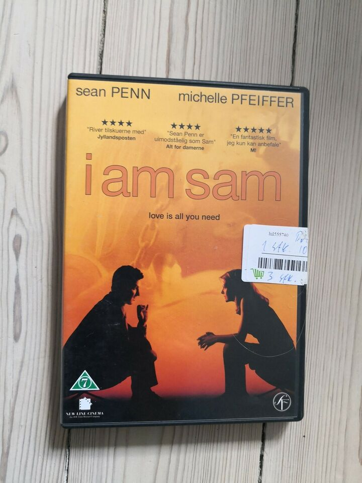 I am sam, DVD, drama