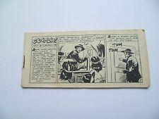 """Tex striscia N. 29 Serie Mefisto """"Giustizia!"""" del 26.06.1959 Edizioni Audace"""