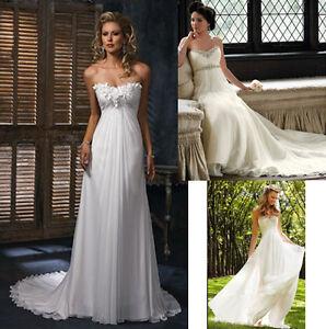 Vestiti Da Sposa Ebay.Abiti Da Sposa Impero Maternita Maternity Wedding Dresses