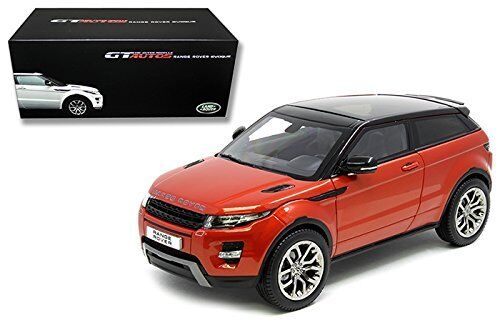 Welly Gt Coches Coches Coches Tierra Range Rover Evoque SUV Naranja 1 18 de Metal 11003MB-OR a27d69