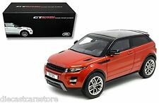 WELLY GT AUTOS  LAND RANGE ROVER EVOQUE SUV ORANGE 1/18 DIECAST CAR 11003MB-OR