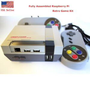 Raspberry-Pi-3-B-B-plus-Retro-GAME-Kit-NESPi-Retroflag-Fully-Assembled