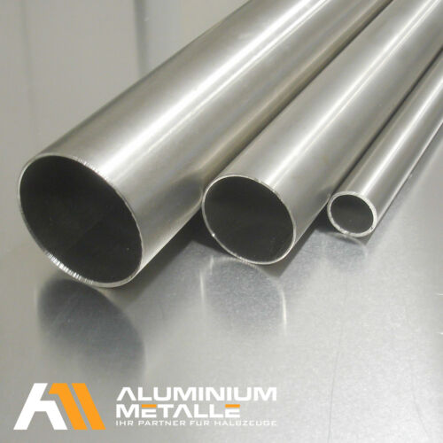 Stainless Steel Pipe Ø 35x1,5mm 1.4301 Railing Pipe Polished k240 VA v2a Profile