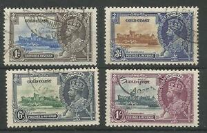GOLD-COAST-THE-1935-GV-SILVER-JUBILEE-SET-FINE-USED-CAT-70