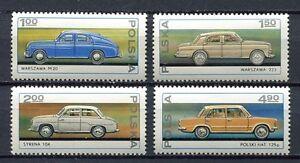 35911-Poland-1976-MNH-Fso-Car-Industry-4v