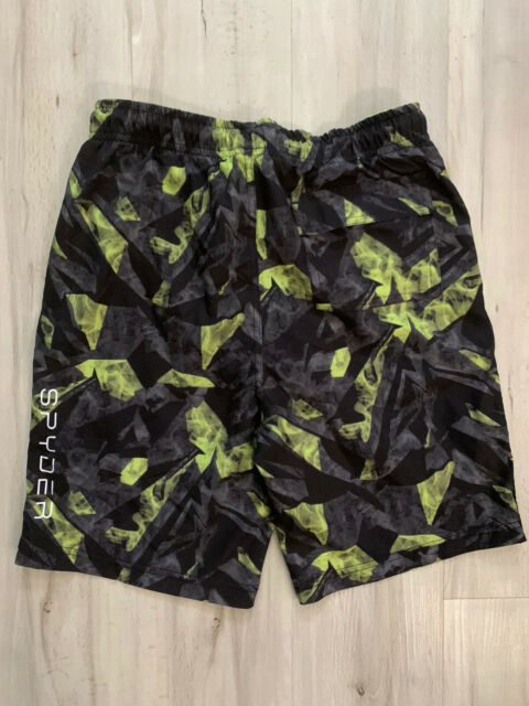 NWT SPYDER 2 Pieces Youth Swim Set Quick Dry Boys Swimwear 7//8 or 14//16