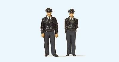 Apprensivo Preiser 65364 Poliziotti In Piedi, Scala 0 Prestazioni Affidabili