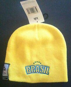 Image is loading Brasil-Brazil-Beanie-2006-Soccer-World-Cup-Memorabilia- 5397df8a35f