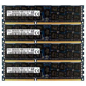 PC3-12800-4x16GB-DELL-POWEREDGE-R610-R710-R815-R510-C6105-C6145-R720-MEMORY-Ram