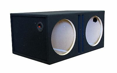 "R//T 15/"" Subwoofer Single Labyrinth Slot Vent Box Enclosure MADE IN THE USA"
