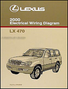 details about 2000 lexus lx 470 wiring diagram manual new electrical schematics original lx470 2000 Chevy Astro Wiring Diagram