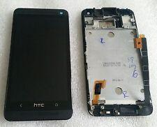 Display LCD Touch Screen Digitalizzatore Completo di vetro con cornice HTC ONE m7 DUAL 802w