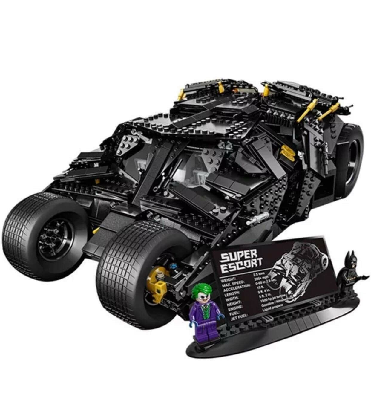 Brand New UCS The Tumbler DC Super Heroes Batman Joker 76023 + Instruction