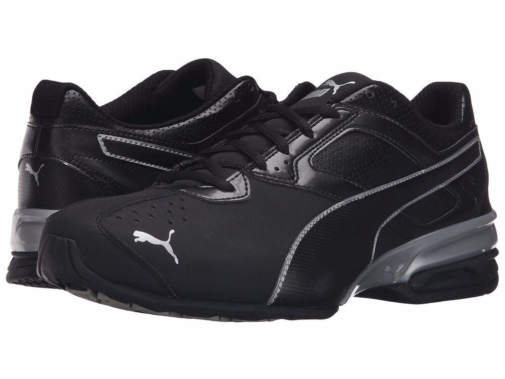 NWT homme Puma Tazon FM 6 Medium & Wide chaussures Voltaic Surin Reverb noir Cell
