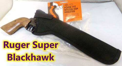 "10/"" KOLPIN Nylon Gun Holster for Ruger Blackhawk /& Super BH Single Six 7.5/"""