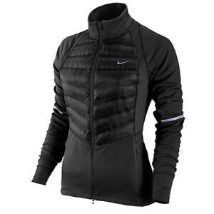 Details about NIKE Aeroloft Hybrid Women's Running Jacket 616268 010