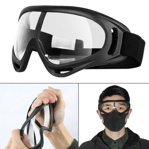 Protective Goggles Safety Anti Fog//Splash//Scratch Goggle Over Glasses Clear Eye