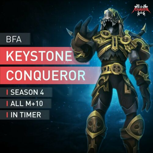WoW Den Schlüsselsteineroberer Boost Keystone Conqueror Boost Raid BfA Season 4