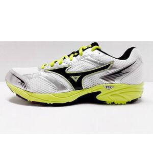 Dettagli su scarpe sportive uomo corsa running ginnastica sneakers bianco Mizuno Crusader 7