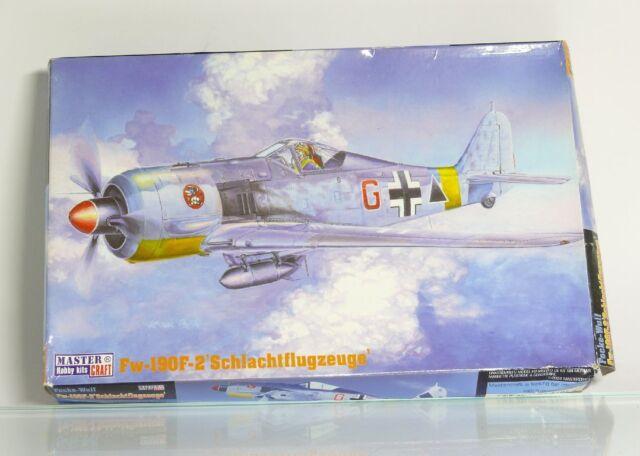 Master Hobby kits 030117  Focke Wulf   Fw-190F-2' Flugzeug   Bausatz 1:72  OVP