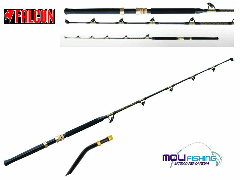 CANNA PESCA DRIFTING BIG GAME FALCON X-TREME TUNA 30/50 L MANICO CLASSICO-CURVED