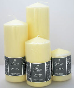 Image Is Loading Clic Church Pillar Table Candles Long Burn Time