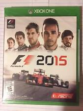 F1 2015  ***XBOX ONE  NEW FACTORY SEALED***
