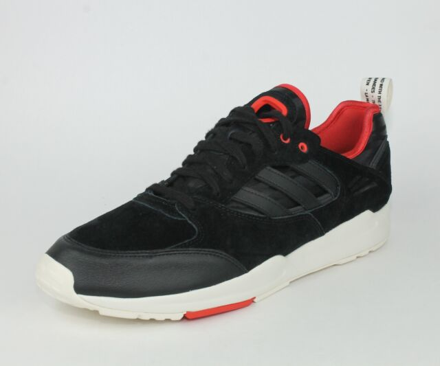 site réputé 884f6 9f0a9 adidas Originals Tech Super 2.0 Shoes Black Red White M25155 Size 12