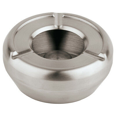 10 Cm H 4,5 Cm Exquisite Craftsmanship; Beautiful Paderno Sambonet Ashtray Stackable Stainless Steel D