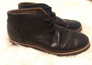233ff7ec05 Details about Perry Ellis America ankle boots Chase Chukka Boots Black  Shoes 6 boys 7.5 womens