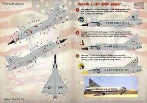 Estampado-Escala-1-72-Convair-F-102-Delta-Dagger-Parte-2-72150