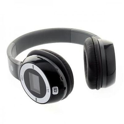 Plug Card Style Hi-Fi Digital Wireless Headphones Stereo Micro SD Card Slot FM p