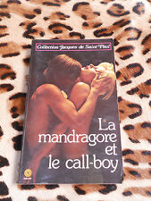 CAROUGES Pierre : La mandragore et le call-boy - Média 1000, 1981