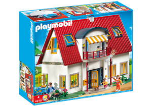 PLAYMOBIL-4279-Family-Home