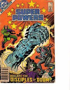 Lot-Of-4-Super-Powers-DC-Comic-Books-1-2-3-5-BH54