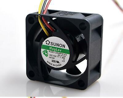 "SUNON Cooling Fan KDE1204PKVX 4020 DC 12V 1.4W 4CM 40x40x20mm 1.6/""x1.6/""x0.8/"""
