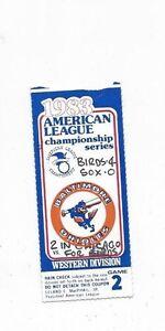 1983-ALCS-ticket-stub-Baltimore-Orioles-Chicago-White-Sox-Gm-2-Mike-Boddicker-W